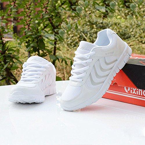 Athletische Ineinander greifen-Breathable Turnschuhe der Art- und WeiseMarken-beste Show-Frauen-laufende Sport-Schuhe Weiß