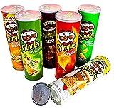 Random Secret Stash Pringles Can Hidden Compartment Storage Geocache Spy Stashbox Diversion Safe