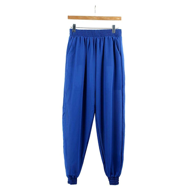 Elevin(TM)Women Chiffon Harem Casual Elastic Waist Loose Long Pants Trousers
