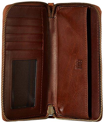 FRYE Melissa Zip Phone Wallet, Cognac by FRYE (Image #4)