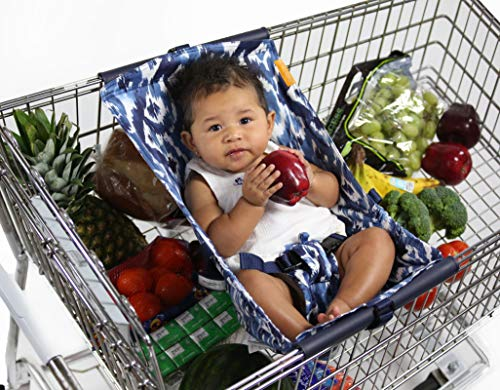 BINXY BABY Shopping Cart Hammock | The Original | Holds All Car Seat Models | Ergonomic Infant Carrier + Positioner from Binxy Baby