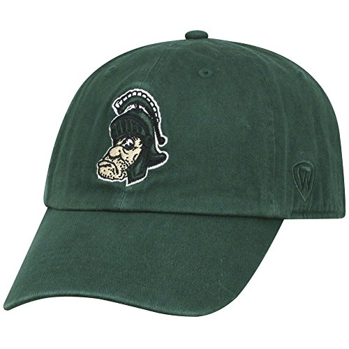 Top of the World Michigan State Spartans Men's Vintage Hat Vault Icon, Green, Adjustable