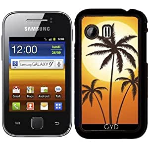 Funda para Samsung Galaxy Y (S5360) - Palmeras Del Sol by hera56