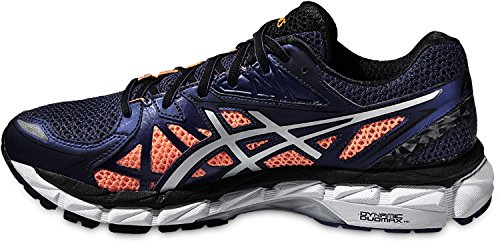 Laufschuhe Cobalt Asics Luminus Silver Deep Orange Shocking Gel OwOIxqpFrE