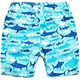 Panda Superstore Cartoon Printing Boys Summer Beach Shorts Swimming Trunks Beach Wear 110CM