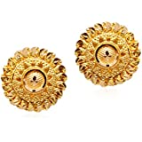 Senco Gold 22k (916) Yellow Gold Stud Earrings
