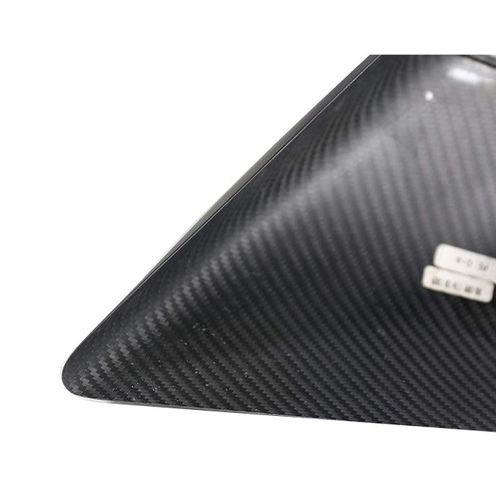 Car Real Carbon Fiber Wing Rearview Side Mirror Cover Caps Trim fit For Tesla Model 3