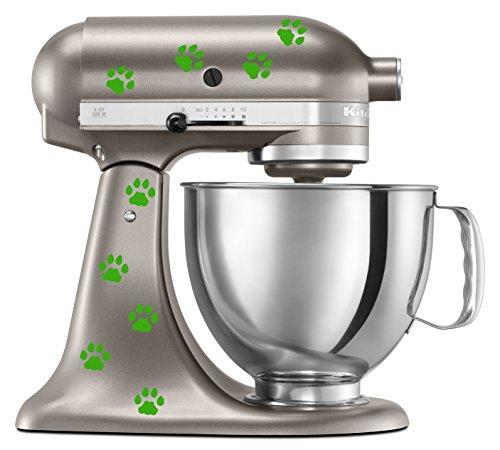 kitchenaid mixer lime green - 2