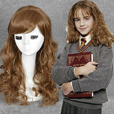 OOFAY JF® Harry Potter Hermione Jean Granger cosplay peluca ...