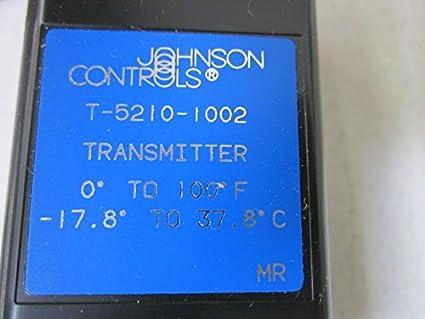 Johnson controls t-5210 – 1002 neumático Temperatura transmisor, da, 0 A 100
