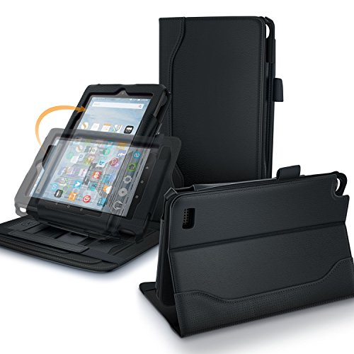 Fire 7 2015 Case, rooCASE Dual View Pro Amazon Fire 7 201...