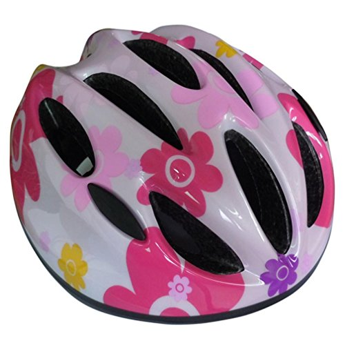 Cycling Safety Helmet, WuyiMC Child Outdoor Sports Mountain Road Bike Bicycle Cycling safety Helmet Riding Rollar Skating Lovely Helmets for Boys and Girls (Pink)