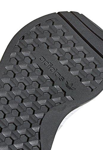Adidas J 5923 ftwbla N Negb Blanches Adultes Gridos Baskets Unisexes rprawx