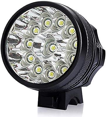 ZIHAOF Luces Bicicleta LED, Luces T6 LED Bicicleta Delantera ...