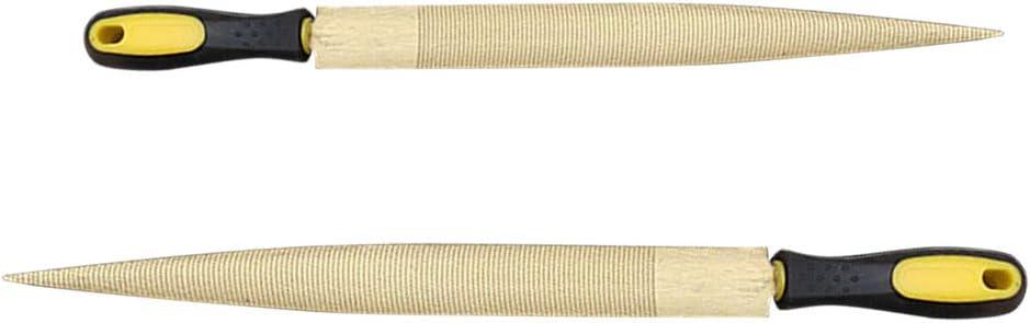 Hartholz Rotholz Schnitzen Goldene Holzraspel 8 Zoll und 10 Zoll mit Gummigriff Holzbearbeitung Wergzeug f/ür Weichholz Kunststoff usw DEDC 2 tlg Metall