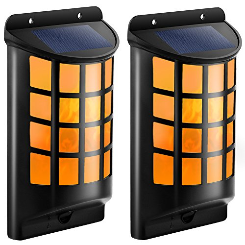 Wall Mounted Solar Lights For Garden