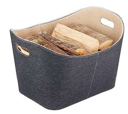 39110960 Starters feltro per legno da interni juta lavorata a mano con cucitura decorativa antracite 1/pezzo