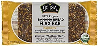 product image for Go Raw Flax Bar Banana Bread - 1.2 oz