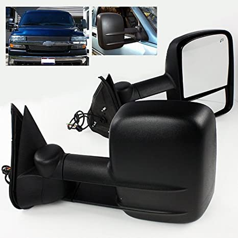 ModifyStreet Power Side Towing Mirrors with Heated Defrost for 1999-2002 on