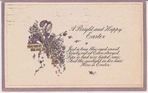 Easter Postcard (Vintage Cancelled Stamp Easter Postcard)