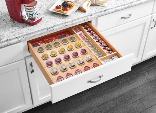 Cut-To-Size Insert K-Cup Organizer for Drawers - 4CDI-24-KCUP-1 - 22