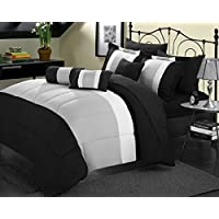 Chic Home Boltonia Oversized and Overfilled Comforter Set 8-Pc Deals