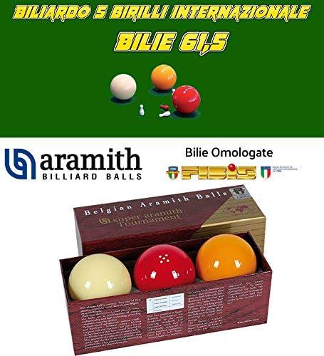 Billar 5 Birilli Bilie Super Aramith Tournament, de resina ...
