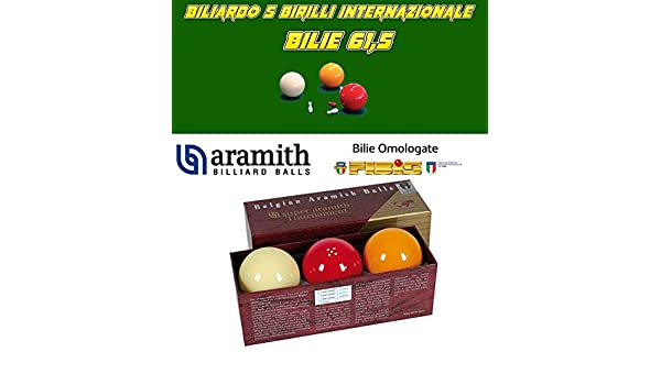 Billar 5 Birilli Bilie Super Aramith Tournament, de resina ...