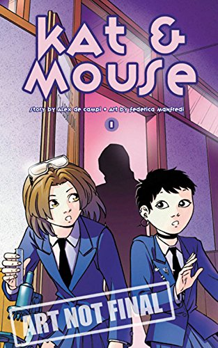 Kat & Mouse Volume 1 Manga (Kat & Mouse (Graphic Novels)) (v. 1)