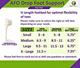 Ankle Foot Orthosis Support - AFO - Drop Foot