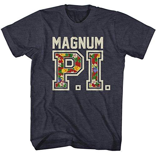 2Bhip Magnum P.I. PI Hawaiian series NBC 80s TV Show AdultT-Shirt (1980s Shirt Hawaiian)