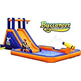Blast Zone Buccaneer Inflatable Water Park