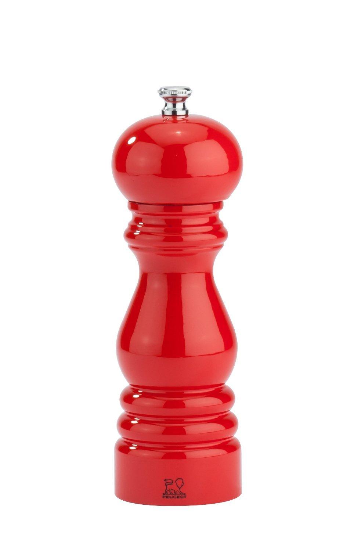 Peugeot 31039 Paris Salt mill 18 cm Poppy Red Lacquer