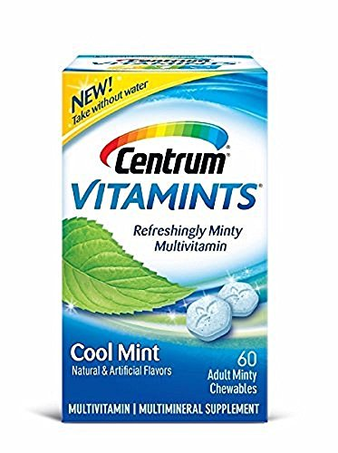 Centrum Vitamints Refreshingly Minty Multivitamin, Cool M...