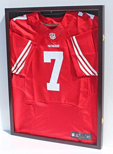 Baseball Football Basketball Jersey Frame Display Case Shadow Box, w/ UV Protection, JC34-MAH