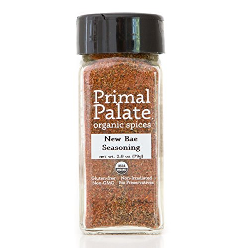 Spice Certified Organic (Primal Palate Organic Spices New Bae Seasoning, Certified Organic, 2.8 oz Bottle)