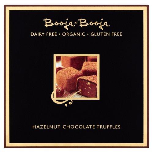 Booja Booja Dairy Free Hazelnut Crunch Chocolate Truffles 104g (Hazelnut Truffles)