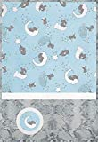 Minky Lullaby Lucky Star Blue Cuddle Kit Quilt Kit Shannon Fabrics