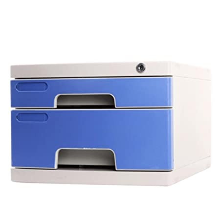 Liuyu · Living Home File Cabinet With Lock Desktop Small A4 Storage Box  Desktop 2 Layer