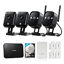 Zmodo Replay - HD WiFi Security System Full Kit (1TB Hard Drive) with Zmodo Beam Alert and 4 Door/Window Sensors