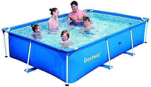 56042 102-Inch x 67-Inch x 24-Inch 2300L Splash Jr. Frame Pool by Bestway