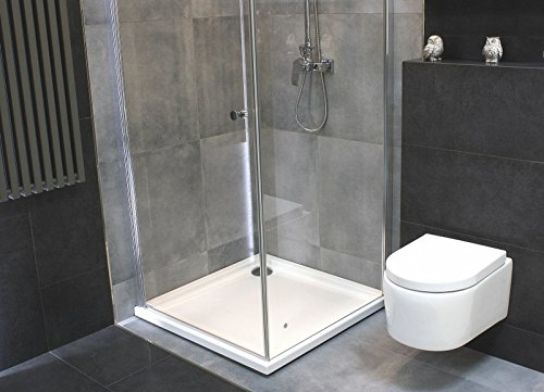 Lavita Wall-Mounted Rimless Toilet and Soft Close Toilet Seat with Soft-Close Grohe Rapid SL including Push Plate
