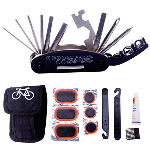 DAWAY A32 Bike Repair Tool Kits - 16 - Bike Tool Kit Set