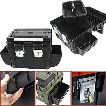 Maletín de herramientas de plástico HD Box Compact, 65 x 35 cm ...