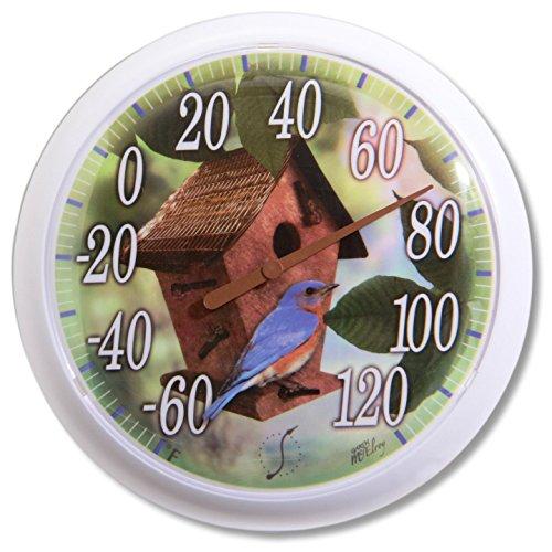 Springfield Birdhouse Profile Thermometer 13 25 Inch