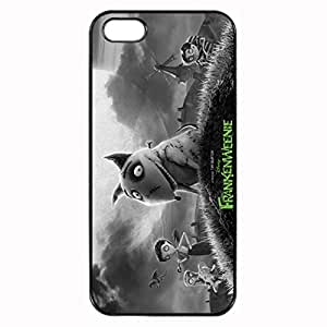 Frankenweenie Custom Image Case iphone 5 case , iphone 5S case, Diy Durable Hard Case Cover for iPhone 5 5S , High Quality Plastic Case By Argelis-sky, Black Case New