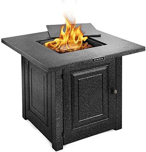 SNAN Gas Propane Fire Pit Table