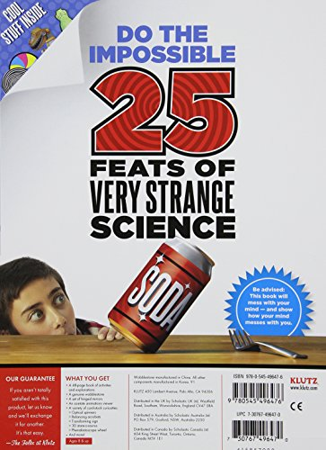 Klutz The Book of Impossible Objects: 25 Eye-Popping Proj...