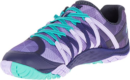 Merrell Women's Glove 4 Trail Runner, Very Grape/Astral Aura, 7.5 B(M) US