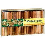 Grasslands Road Tiki Bamboo Barrel Patio Light Set, 9-Foot